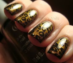 She got this to work... Beautiful!  http://chloesnails.blogspot.com/#