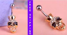 Love Steampunk? Check Out This Steampunk Skeleton Navel Ring Here https://steampunkfan.com