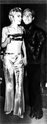Edie Sedgwick and Andy Warhol, 1965