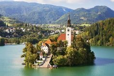 SLOVENIA- Slovenia is undoubtedly one of Europe's hidden gems. The Slovenian government has made it their mission in the last decade to not only expand their tourism sector but to do so while protecting their country's pristine lands. Best Image In The World, Places To Travel, Places To Visit, Bled Slovenia, Turu, Lake Bled, Europe Destinations, Adventure Is Out There, So Little Time