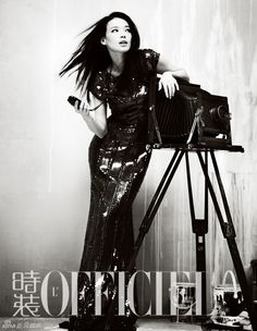 Shu Qi for L'Officiel China October 2012