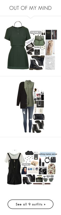 """""""OUT OF MY MIND"""" by fran-peeters ❤ liked on Polyvore featuring L'Agent By Agent Provocateur, Topshop, Dr. Martens, Skagen, kikki.K, Givenchy, For Love & Lemons, River Island, Equipment and Forever 21"""