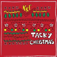 Kappa Kappa Gamma Tacky Christmas