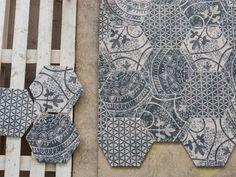 Kolekcja Alchimia z fabryki Quintessenza Ceramiche.