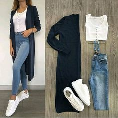 New Fashion Casual Hijabi Jeans 20 Ideas – Outfits – – Hijab Fashion 2020 Mode Outfits, Chic Outfits, Trendy Outfits, Fall Outfits, Jean Outfits, Classy Outfits, Fashion Week Paris, New Fashion, Trendy Fashion