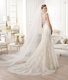 Spectacular Atelier Pronovias Wedding Dresses 2014 Collection. To see more: http://www.modwedding.com/2014/01/19/atelier-pronovias-wedding-dresses-2014-collection/ #wedding #weddings #fashion