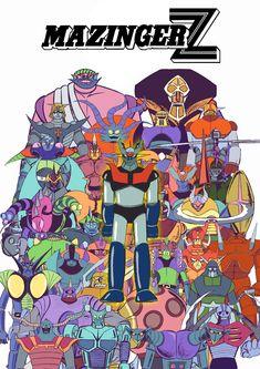 Mazinger-Z Poster