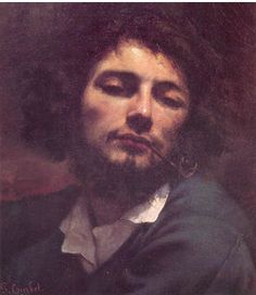 Gustave Courbet Self-Portrait - Man with Pipe, , Musee Fabre, Montpellier. Read more about the symbolism and interpretation of Self-Portrait - Man with Pipe by Gustave Courbet. Famous Self Portraits, Barbizon School, L'art Du Portrait, Rembrandt Self Portrait, Gustave Courbet, French Paintings, French Art, Famous Artists, Les Oeuvres