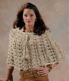The Capelet Crochet Pattern | Red Heart