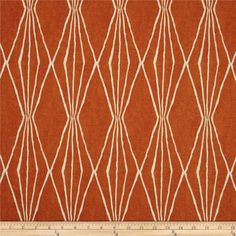 Add some color to your home with these drapes. The listing is for TWO panels rod pocket Robert Allen Handcut 50 wide curtains  Color: Orange crush;