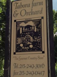 Tabora Farm and Orchard!  We love their homemade sandwiches and breads!