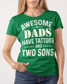 Awesome Dads Have Tattoos and Two Sons - Kelly Green tiny tattoo, harry potter tattoos, tiny tattoos #tattooartist #mermaid #freehandtattoo, dried orange slices, yule decorations, scandinavian christmas Time Tattoos, Word Tattoos, Tattoos For Guys, Chef Tattoo, Tattoo Cat, Chemistry Tattoo, Green Tattoos, Hunting Tattoos, Free Hand Tattoo
