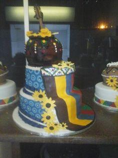 Ndebele Wedding Cake