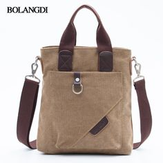 BLD Brand Canvas Casual Briefcase High Quality Business Shoulder Bag for Men Messenger Handbags Vintage Man Crossbody Bags. Yesterday's price: US $19.02 (15.59 EUR). Today's price: US $15.22 (12.47 EUR). Discount: 20%. Canvas Messenger Bag, Canvas Crossbody Bag, Fashion Handbags, Fashion Bags, Mochila Jeans, Sacs Design, Latest Bags, Jute Bags, Fabric Bags
