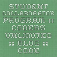 Student Collaborator Program :: Coders Unlimited :: Blog :: Coders Unlimited