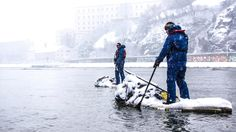 Philipp Benda in Action auf der Donau | 2013