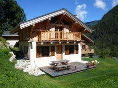 Location vacances chalet Vallorcine: Vue d'ensemble