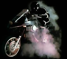 Streethawk! TV show was basically Knight Rider on a motorcycle (except the bike didn't talk)