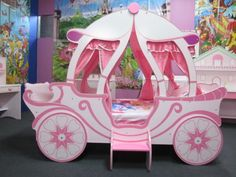 NEW-GIRLS-BEDS-THE-PRINCESS-CASTLE-CARRIAGE-BED-FOR-KIDS