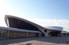 TWA Terminal at JFK Airport - Eero Saarinen