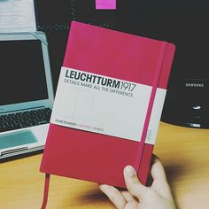 Diving in to #BulletJournaling. I hope this gives me #plannerpeace already. :D #leuchtturm1917 #bulletjournal