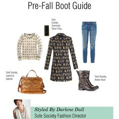 """""""Pre- Fall Boot Guide"""" by solesociety on Polyvore"""