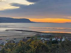 North Wales, Celestial, Mountains, Sunset, Beach, Water, Travel, Outdoor, Sunsets