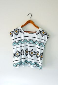 crop tops etnico