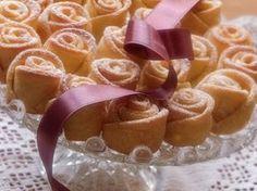 Růžičky z tvarohového těsta * video s receptem.