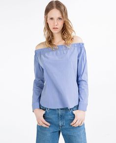 OFF-THE-SHOULDER TOP-View all-WOMAN-NEW IN | ZARA United States