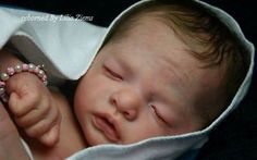 *Julietta Asleep* Reborn doll kit by Natali Blick Long Sold Out Limited Edition