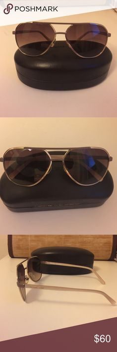 Michael Kors Tristan Sunglasses MK Tristan sunglasses with in great care. Nothing says Jet Set style like a pair of MK Aviators! MICHAEL Michael Kors Accessories Sunglasses