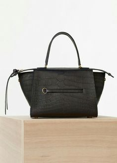 Small Ring Bag in Crocodile - Céline Celine Handbags 389209b2ffb16