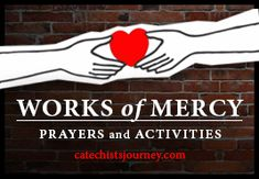 Works of Mercy Prayers and Activities--Free Resource Packet Perfect for the Year of Mercy