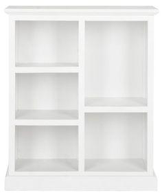 Gigi Bookcase, White | One Kings Lane