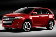 ford edge 2013 | waynesworldautobloguk Ford Edge 2013  red is my color