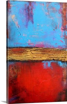 Hill Street Blues by Erin Ashley Painting Print on Canvas