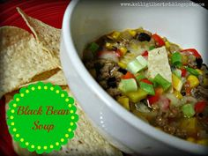 Food From My Thoughts: Black Bean Soup