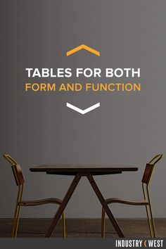 Industrial and wood tables perfect for the home or any business. Shop a variety of tables today!