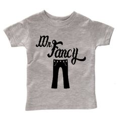 Mr. Fancy Pants Tee, Funny Shirt for Boys