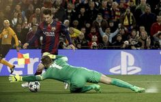 FC Barcelona Vs. Manchester City - LUSA/Alberto Estevez
