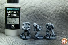 Painting 201: Zenithal Priming, or how to shade & highlight like a BOSS | POWERFISTED