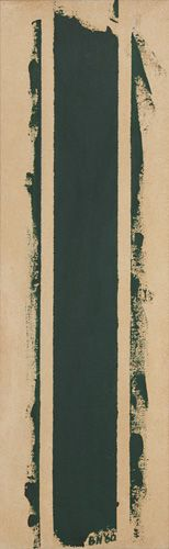 Treble - Barnett Newman. [love Barnett Newman & my god it looks like mine.]