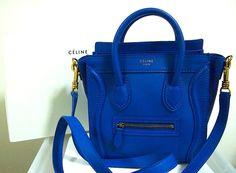 Cobalt Blue Celine