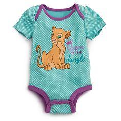 Nala Disney Cuddly Bodysuit for Baby - Lion King