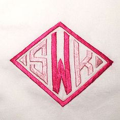 Walker Valentine Monograms | G I F T S | Pinterest | Monograms And  Embroidery