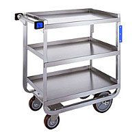 Lakeside Stainless Steel Heavy Duty NSF Traditional Utility Cart with 3 Shelves, 16 x 30 x 34 inch - 1 each. Utility Shelves, Utility Cart, Cleaning Cart, Glass Rack, Hotel Supplies, Furniture Manufacturers, Table Furniture, The Ordinary, Stainless Steel