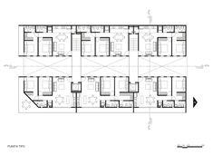 Popocatepetl 143 / HGR Arquitectos   2 Dormitórios
