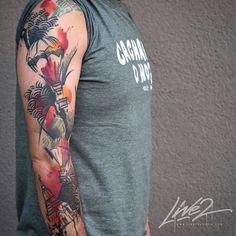 Done by Livetwotattoo at Theburningeyetattoo www.theburningeyetattoo.com  For appointments info@theburningeyetattoo.com  -Graphic  Abstract  Watercolour- #zurich #zurichtattoo #tattoozurich  #zürichtattoo #züritattoo #tattoozürich #theburningeyetattoo #theburningeyetattoozurich #livetwotattoo #swiss #swisstattoo #graphictattoo #abstracttattoo #watercolortattoo Watercolor Tattoos, Abstract Watercolor, Eye, Watercolour Tattoos, Watercolor Tattoo