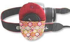 Tasche für Objektivdeckel von foto-knipse auf DaWanda.com